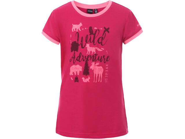 Icepeak Kamas T-Shirt Enfant, carmine